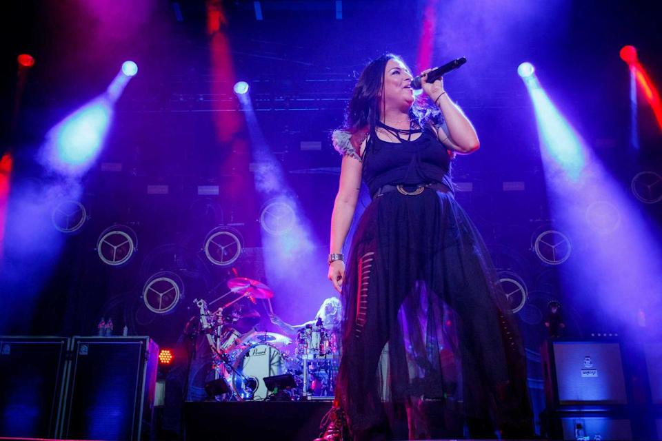 <p><strong>Evanescence </strong></p><p>Evanescence was formed in Little Rock, Arkansas, but nothing is little about them. Singer and pianist Amy Lee and guitarist Ben Moody recorded separate albums before coming together for the group's first EP, <em>Fallen</em>. They struck gold as the album has sold more than 17 million copies worldwide with a couple Grammys in tow. They're planning to release a long-awaited comeback album later this year and we're ready for them to *briiiing us back to life.*</p>