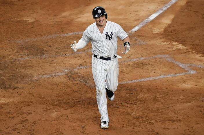 Luke Voit will likely be the MLB home run champ for 2020. (Photo by Sarah Stier/Getty Images)