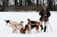 """<p><a href=""""https://www.dailymail.co.uk/news/article-5186803/What-Royals-REALLY-Sandringham-Christmas.html"""" rel=""""nofollow noopener"""" target=""""_blank"""" data-ylk=""""slk:According to McGrady,"""" class=""""link rapid-noclick-resp"""">According to McGrady,</a> the men are eager to get out of the house the day after Christmas and get up early to go shooting. The women in the royal family, on the other hand, typically stay behind, but join the guys at a cottage on the estate for a hot lunch of beef bourguignon, or venison stew, with mashed potatoes, braised red cabbage and apple pie.</p>"""