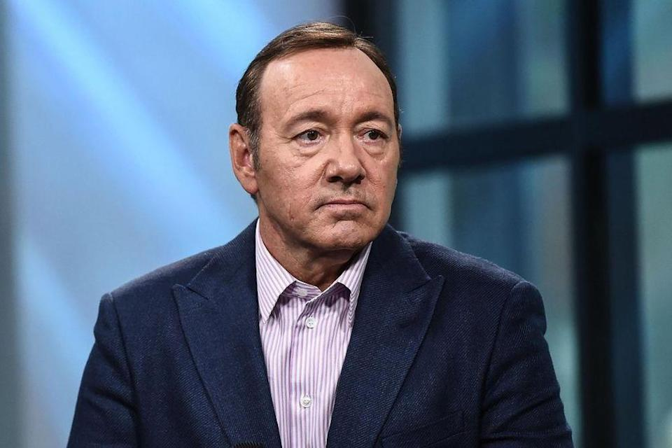 Kevin Spacey Photographed Wearing 'Retired Since 2017' Cap