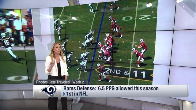 """NFL Total Access"" analyst Willie McGinest and host Lindsay Rhodes discuss about the Los Angeles Rams defense for the 2018 season and how NBA Golden State Warriors forward Kevin Durant complimented the Rams via social media on Sunday."