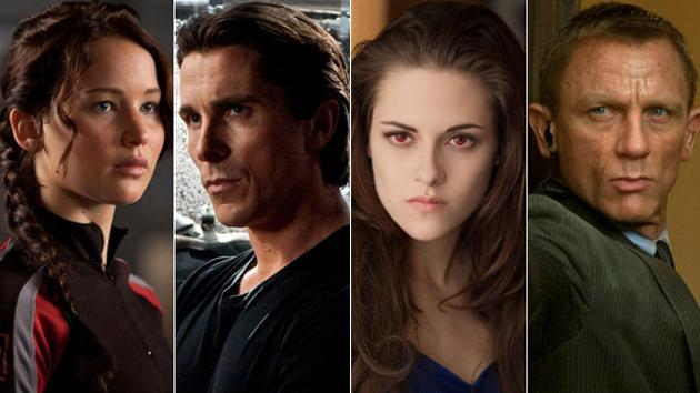 The most searched movies of 2012