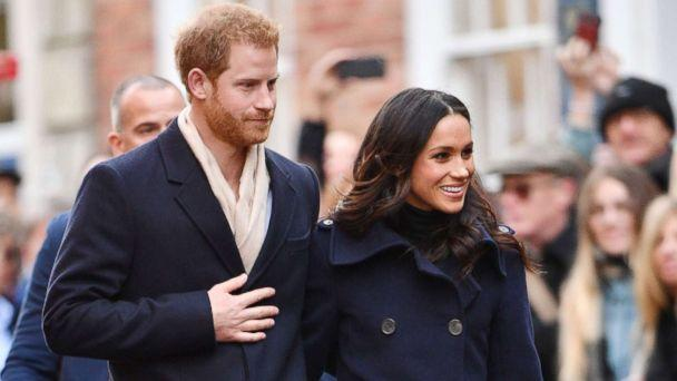 PHOTO: Prince Harry and Meghan Markle visit the Terrence Higgins Trust World AIDS Day Charity Fair, in Nottingham, England, Dec. 1, 2017. (Tim Rooke/REX/Shutterstock)