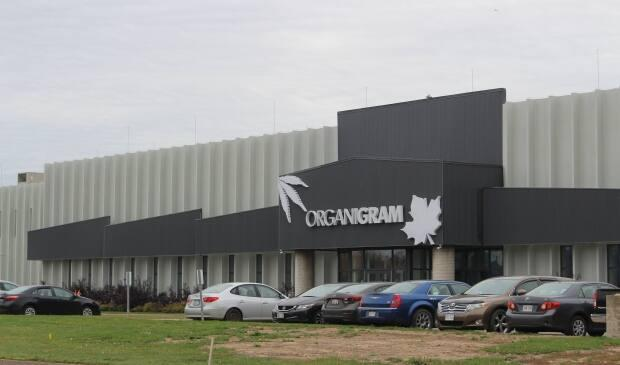 Organigram's cannabis production facility in Moncton.