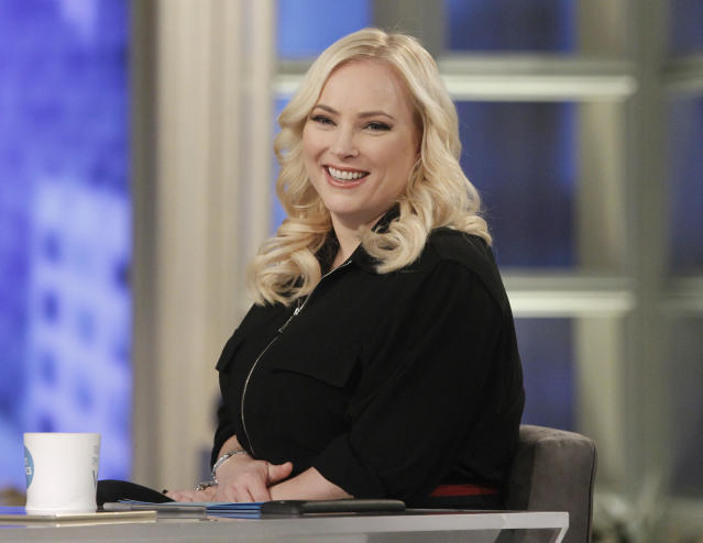 Megan McCain, a co-host of <em>The View</em>. (Photo: Lou Rocco/ABC via Getty Images)