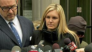 Christine Russell, the widow of Toronto police Sgt. Ryan Russell, told reporters she doesn't feel any closure as a result of the verdict in Richard Kachkar's trial.