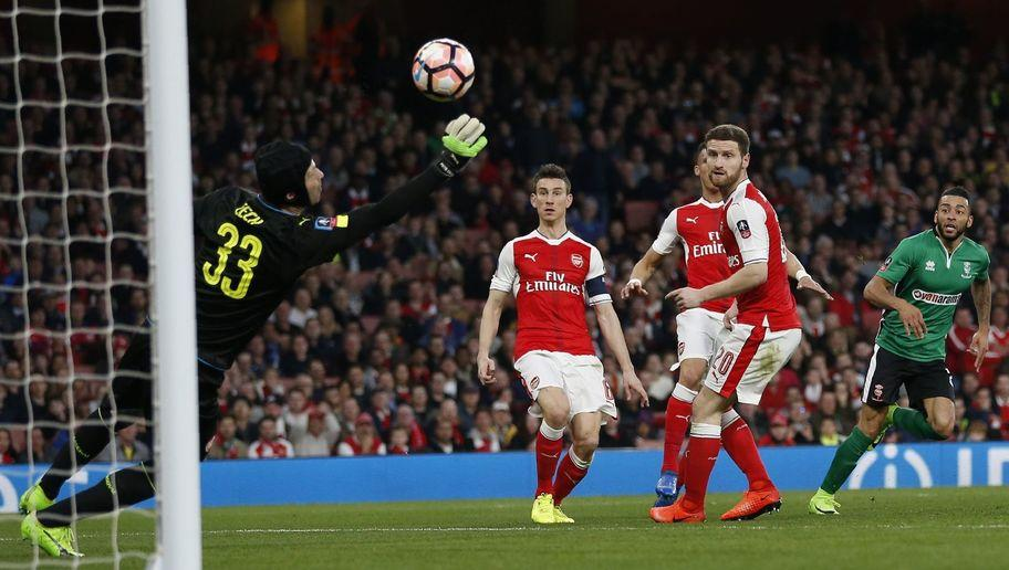 <p>Petr Cech hasn't had the best of seasons between the sticks for Arsenal, but in a combined XI, he's probably still the better option out of David Ospina, Willy Caballero and Claudio Bravo.</p> <br /><p>Caballero has filled in quite well for the dropped Bravo over at the Etihad, but you do always get the feeling that he is a mistake waiting to happen - just a slightly weaker feeling than you get with Bravo.</p>  <p>On paper, Cech is arguably still the most solid out of the four to choose from.</p>