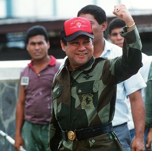 <p>The Panamanian dictator ousted by the United States in 1989 died on May 29 at age 83. (Photo: Bob Sullivan/AFP/Getty Images) </p>