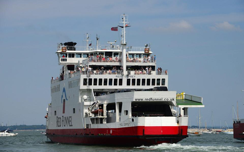 Red Funnel ferry - Roger Arbon/Solent News & Photo Agency