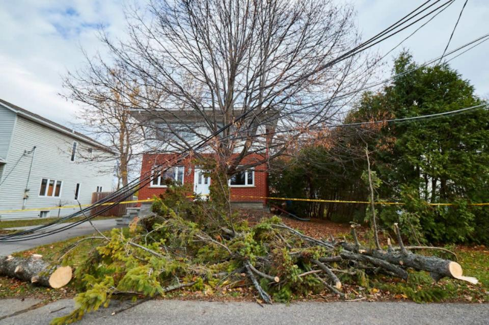 November 1, 2019 - Almost 1 Million Without Power in Quebec