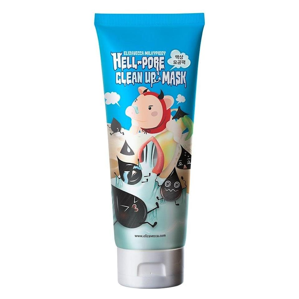 <p>Consider this an evolution of your favorite pore strips. After steaming skin, apply this charcoal <span>Elizavecca Milkypiggy Hell-Pore Clean Up Nose Mask</span> ($9) on your trouble areas and allow it to extract dirt and oil from your pores for a good, deep clean.</p>