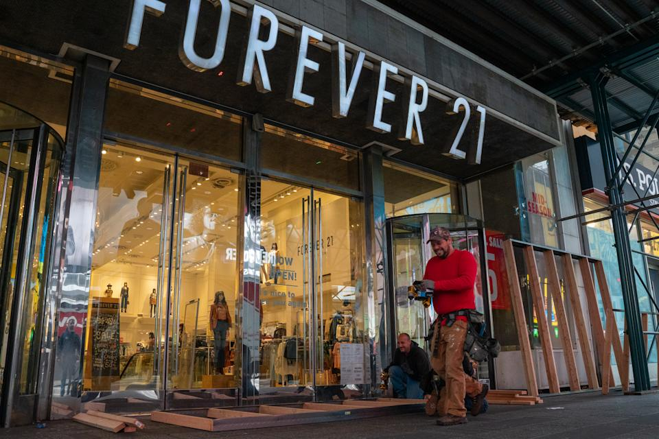 Loja da Forever 21. (Foto: David Dee Delgado/Getty Images)