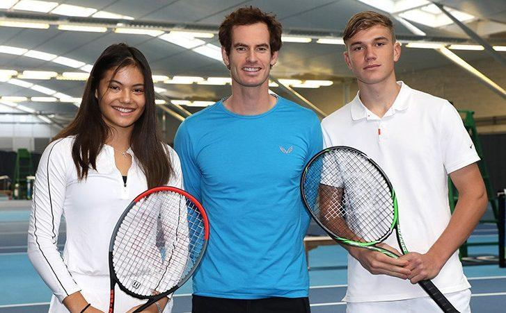 Andy Murray and Emma Raducanu - ANDREW TIMMS