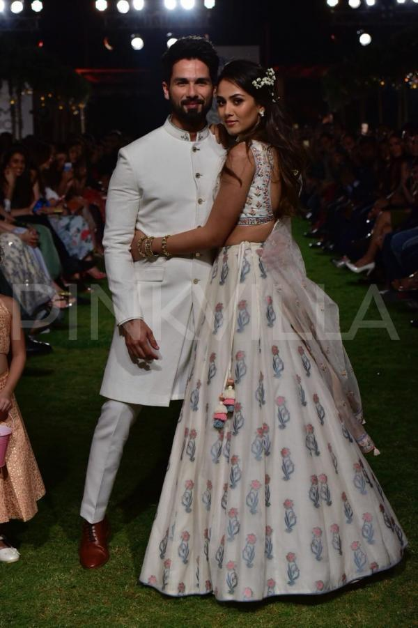 Photos: Shahid Kapoor and Mira Rajput look straight out of a fairy tale as they walk the ramp TOGETHER