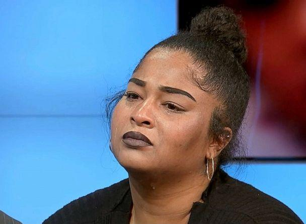 PHOTO: Brittany Bowens, mother of missing 4-year-old Maleah Davis speaks during an interview. (KTRK)