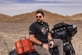 Ahmet Oytun Cakir talks about his blog 'Harleybaba' and his upcoming website