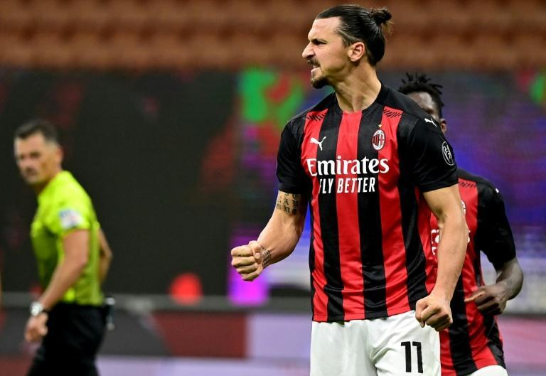 Zlatan Ibrahimovic is showing few signs of slowing down despite turning 39 at the start of October
