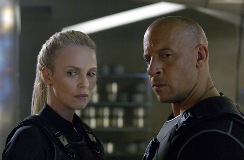 Box Office Top 20: 'Fast 8' races to No. 1 again