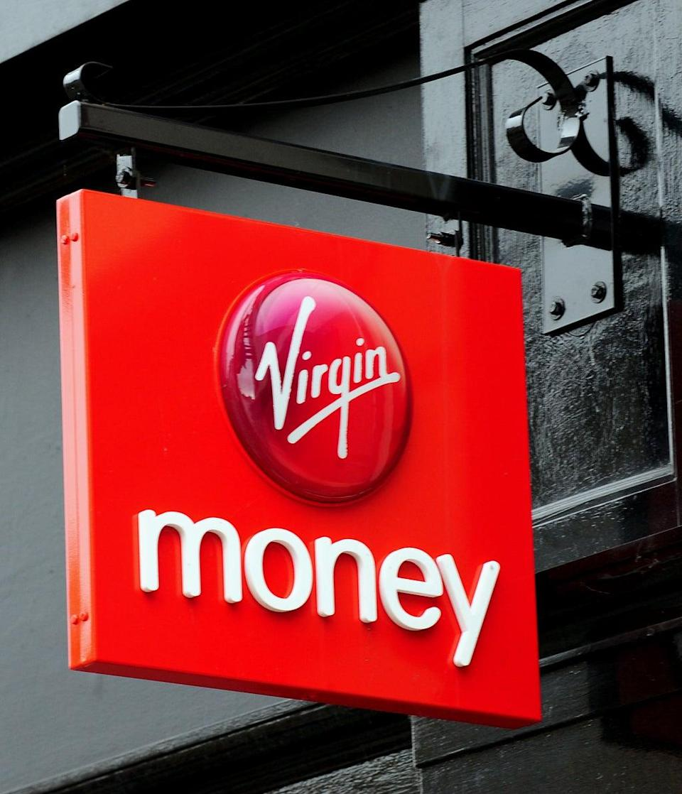 Virgin Money has announced plans to close branches (Rui Vieira/PA) (PA Archive)