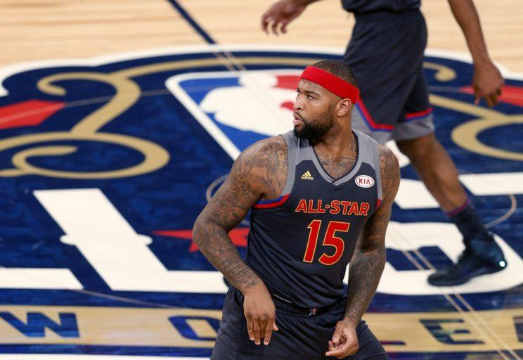 cheap for discount 9ef84 6f761 How a private jet ride boosted DeMarcus Cousins' fresh start