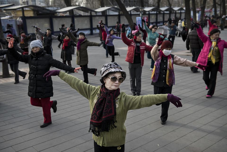Dancing grannies gang: New problem for Chinese locals