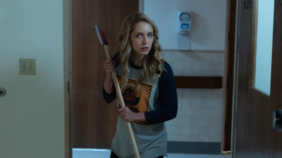 How do you follow up a surprise horror hit? In the case of <em>Happy Death Day 2U</em>, the answer is to make something completely different. Christopher Landon's sequel maintains the time loop conceit of the first movie, but also allows the narrative to pinball off into other directions and indeed genres. It's as much a sci-fi comedy as it is a slasher, but it's certainly loads of fun. (Credit: Universal)