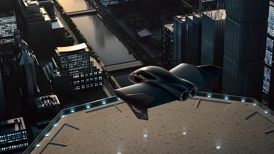 Porsche and Boeing will work on a flying craft concept. Credit: Porsche AG