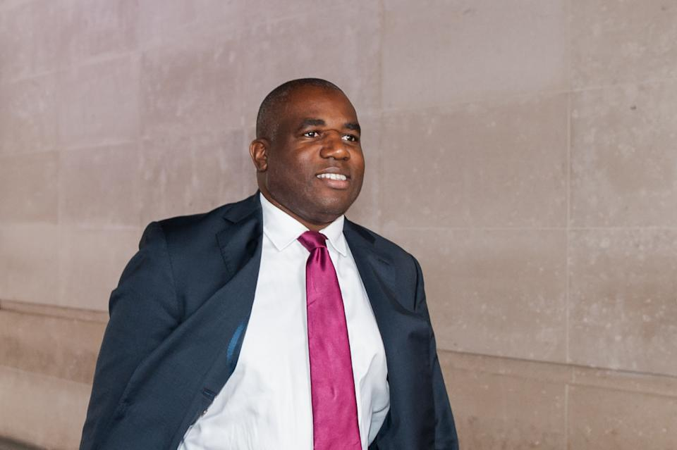 Shadow Justice Secretary David Lammy leaves the BBC Broadcasting House in central London after appearing on The Andrew Marr Show on 27 September 2020 in London, England. (Photo by WIktor Szymanowicz/NurPhoto via Getty Images)