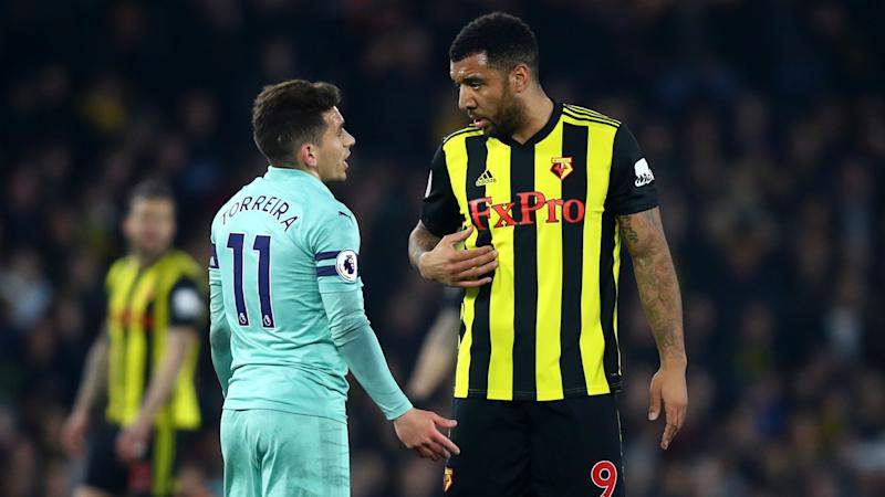 I didn't listen to him – Emery dismisses Deeney volley