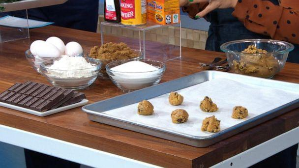 PHOTO: Pantry items like baking powder, flour and chocolate are great to bake dessert any time. (ABC News)