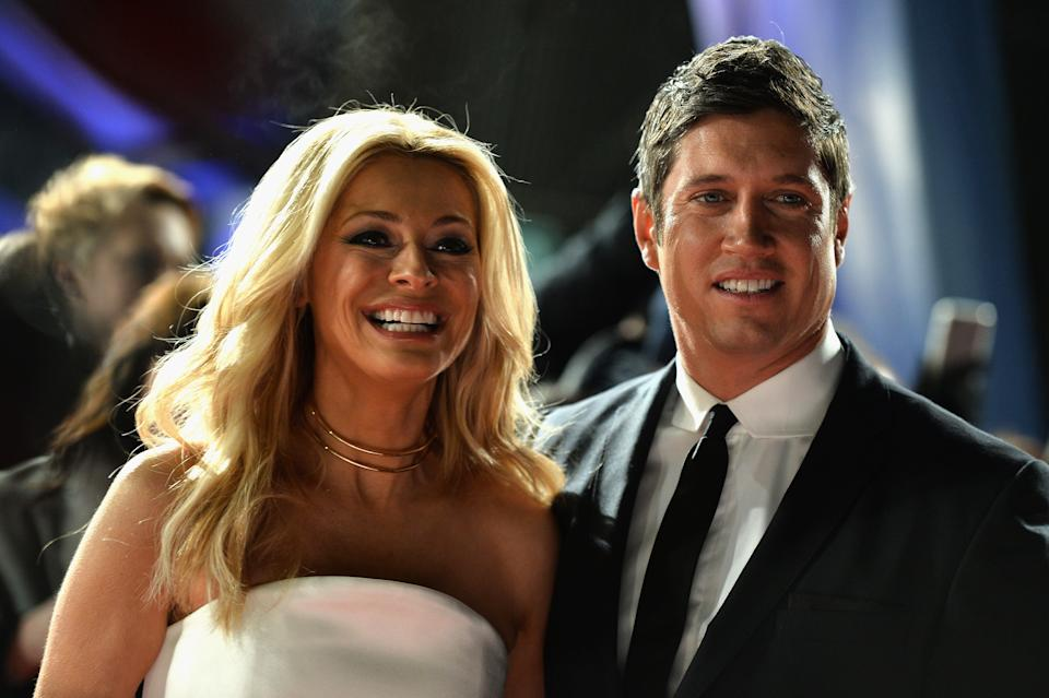 LONDON, ENGLAND - JANUARY 25:  Vernon Kay and Tess Daly attend the National Television Awards on January 25, 2017 in London, United Kingdom.  (Photo by Jeff Spicer/Getty Images)