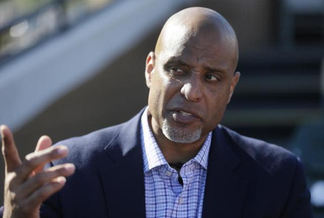 MLBPA president Tony Clark confirmed the free agent training camp on Feb. 7. (AP)