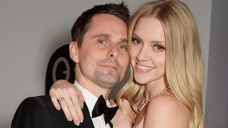 Muse singer Matt Bellamy and model Elle Evans are married