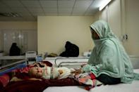 """The drawdown of US and NATO troops has accompanied a slashing of foreign aid, which Human Rights Watch says has already delivered a """"life-threatening"""" impact on women and girls"""