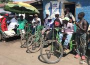 COVID-19 pandemic derails trade for Congo's disabled border couriers in Goma