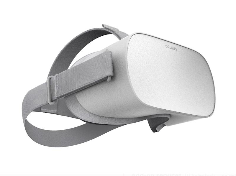 The Oculus Go Standalone Virtual Reality Headset has 32GB and a Walmart protection plan. (Photo: Walmart)