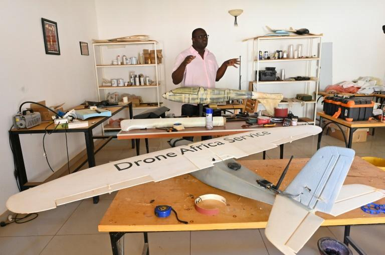 Kountche built his first drone in 2009, without really wanting to make any money from it