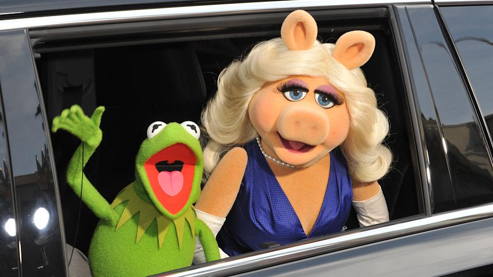 Kermit and Miss Piggy Muppets