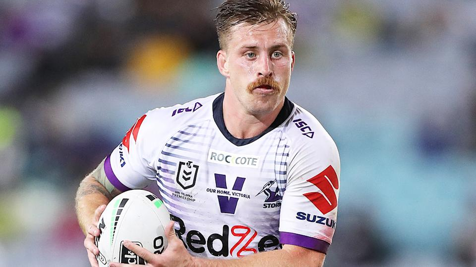 Cameron Munster, pictured here in action during the 2020 NRL Grand Final.