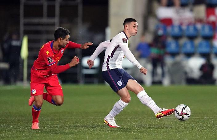 Phil Foden impressed for England (Nick Potts/PA) (PA Wire)