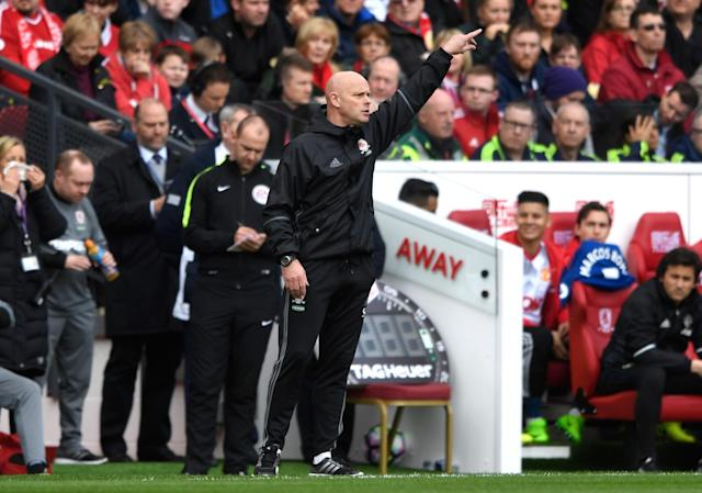 <p>Steve Agnew takes charge of Middlesbrough for the first time since Aitor Karanka's sacking </p>