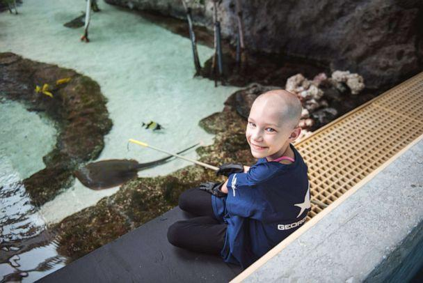 PHOTO: Dakota, 9, has juvenile pilocytic astrocytoma (JPA), a rare childhood brain tumor and wants to be a marine biologist when she grows up. (Ashley Berrie Photography)