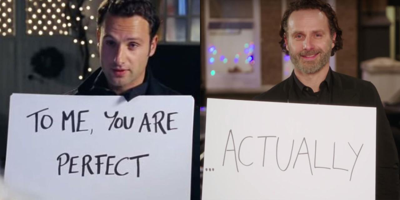 """<p>At long last, the """"sequel"""" to rom-com classic <em>Love Actually</em> will premiere tomorrow in the UK. Fourteen years after the movie was first released, some of its biggest stars—<span>like Liam Neeson, Keira Knightly and more—<span>reunited for a reprise in honor of <a rel=""""nofollow"""" href=""""http://www.rednoseday.com/"""">Red Nose Day</a>. Flip through to see how much your favorite characters and couples have (or haven't) changed over the years.</span></span></p>"""