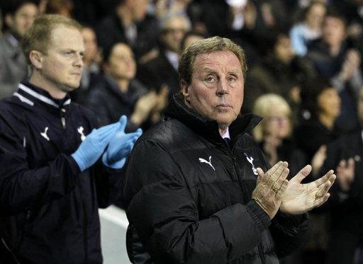 Tottenham Hotspur manager Harry Redknapp, pictured here on March 21, is widely regarded as the leading candidate to take over as England coach