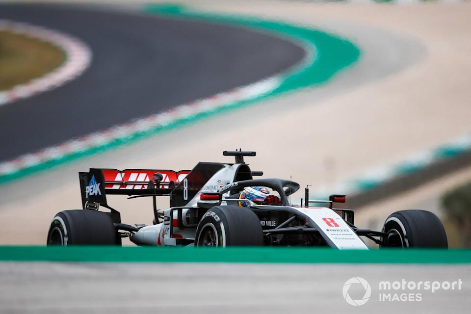 "Romain Grosjean, Haas VF-20<span class=""copyright"">Zak Mauger / Motorsport Images</span>"