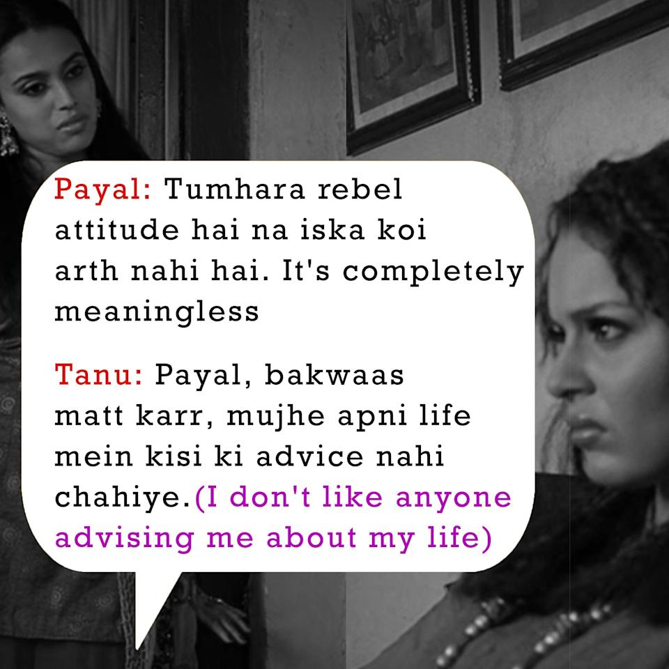 Who needs an advice about their life from you, Kangana? No one.
