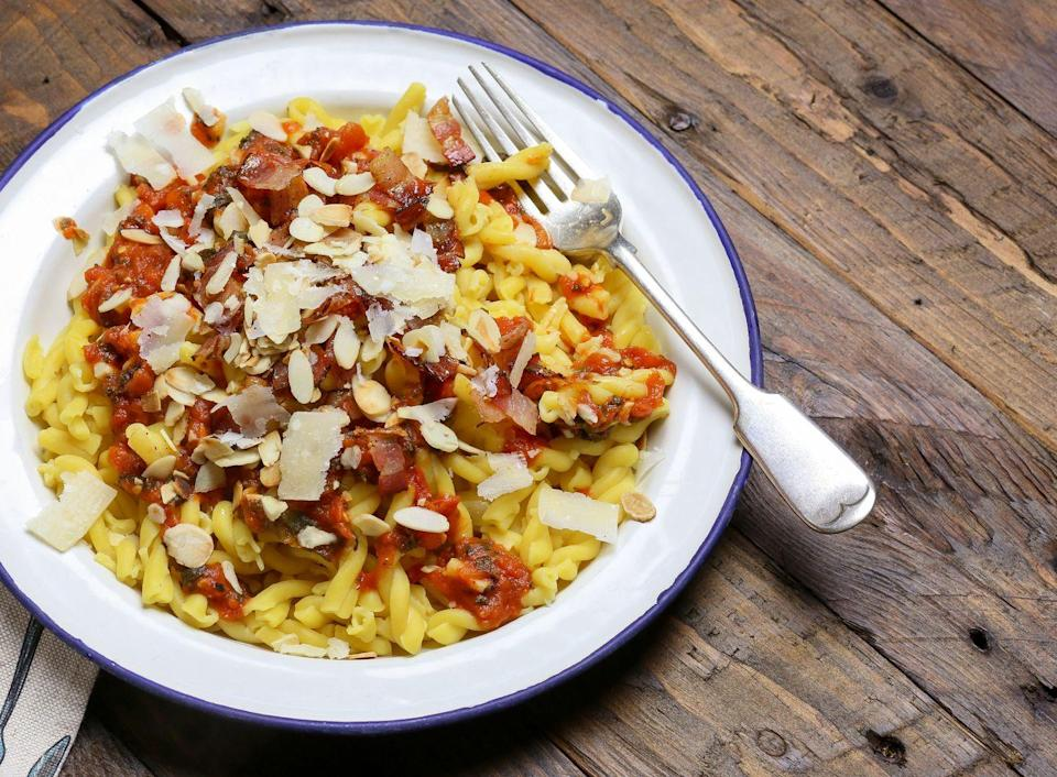 <p>Gemelli is another versatile pasta that suits being doused in most sauces.</p>