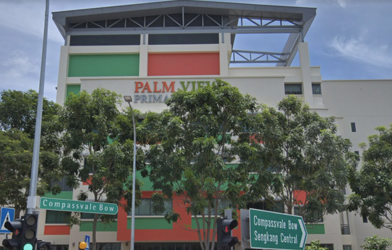 Palm View Primary School at 150 Compassvale Bow. (SCREENCAP: Google Maps)