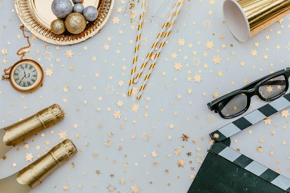 """<p>Start off the new year with a bang — aka with a movie marathon of the <a href=""""https://www.goodhousekeeping.com/life/entertainment/g25586440/new-years-eve-movies/"""" rel=""""nofollow noopener"""" target=""""_blank"""" data-ylk=""""slk:best New Year's films"""" class=""""link rapid-noclick-resp"""">best New Year's films</a>! Set out popcorn and other essential movie snacks for a chill movie night in with friends, and get the night started with classics like <em><a href=""""https://www.amazon.com/When-Harry-Sally-Billy-Crystal/dp/B001Q556QG?creativeASIN=B001Q556QG&linkCode=w61&imprToken=btqz-QJnhG4vH98BSMeKJg&slotNum=16&tag=syn-yahoo-20&ascsubtag=%5Bartid%7C10055.g.30105731%5Bsrc%7Cyahoo-us"""" rel=""""nofollow noopener"""" target=""""_blank"""" data-ylk=""""slk:When Harry Met Sally"""" class=""""link rapid-noclick-resp"""">When Harry Met Sally</a> </em>and <em><a href=""""https://www.amazon.com/New-Years-Eve-Halle-Berry/dp/B0091W2PGA?creativeASIN=B0091W2PGA&linkCode=w61&imprToken=rM4fSLVdGgIx6ue8fBfFMw&slotNum=5&tag=syn-yahoo-20&ascsubtag=%5Bartid%7C10055.g.30105731%5Bsrc%7Cyahoo-us"""" rel=""""nofollow noopener"""" target=""""_blank"""" data-ylk=""""slk:New Year's Eve"""" class=""""link rapid-noclick-resp"""">New Year's Eve</a></em>.</p>"""