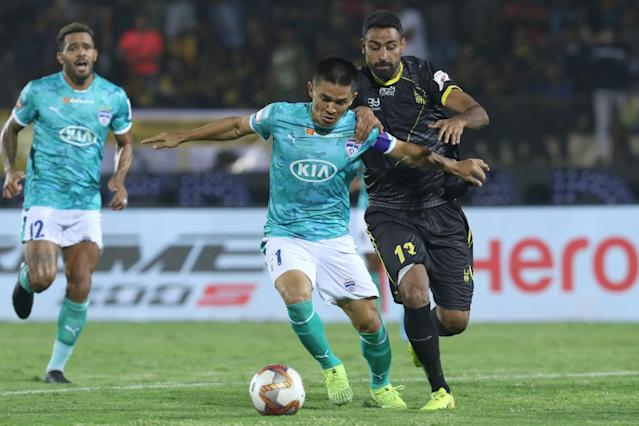 Sunil Chhetri Hyderabad vs Bengaluru